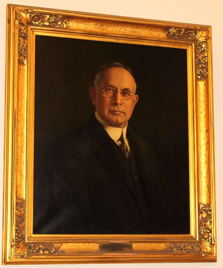 John H Bartlett NH State House Portrait