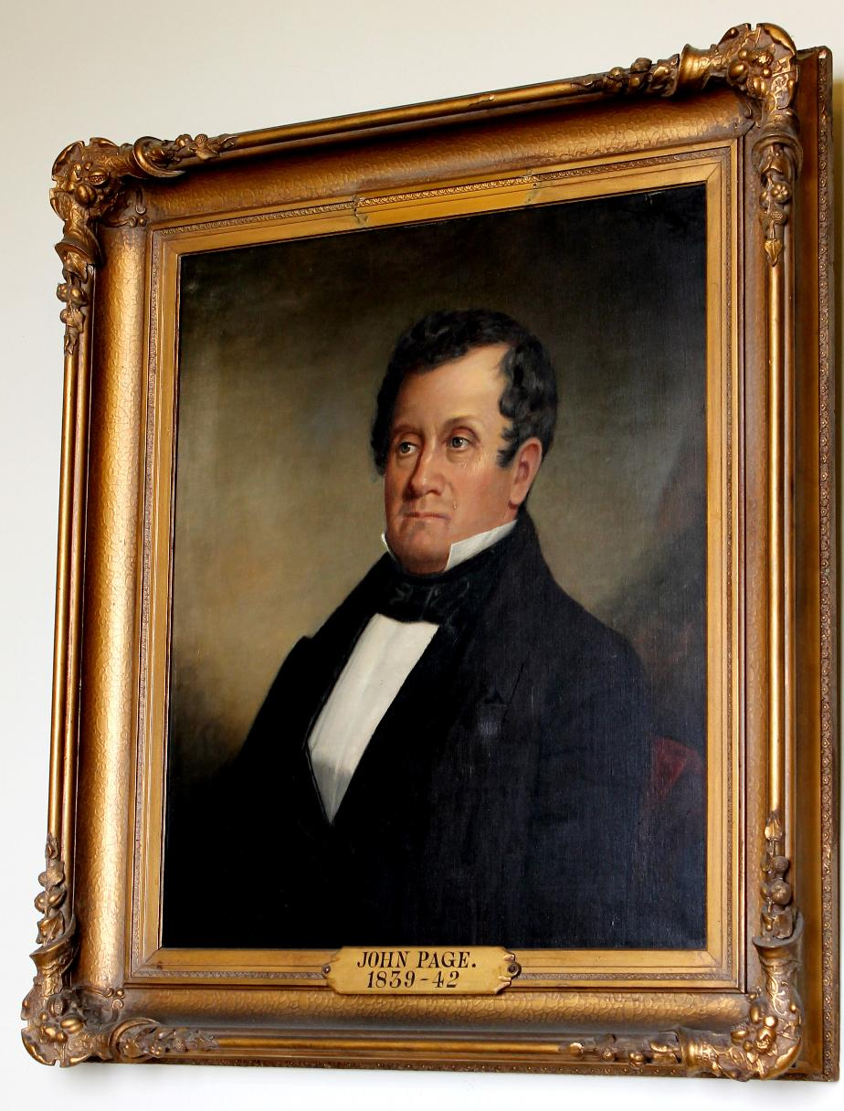 Governor John Page NH State House Portrait