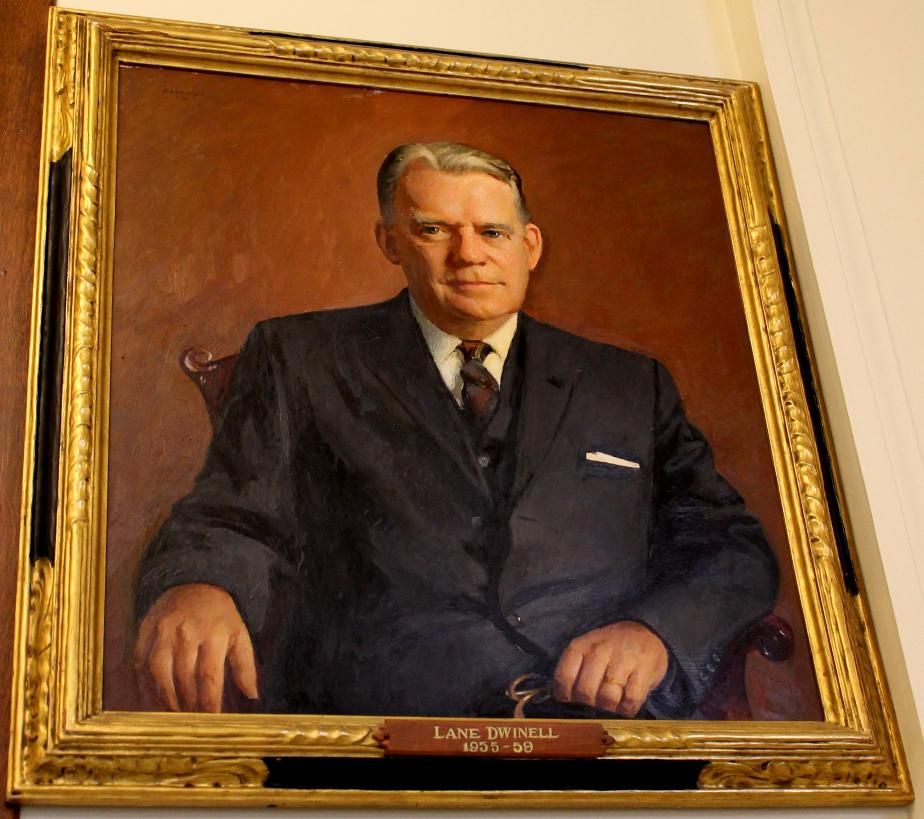 Lane Dwindell NH State House Portrait