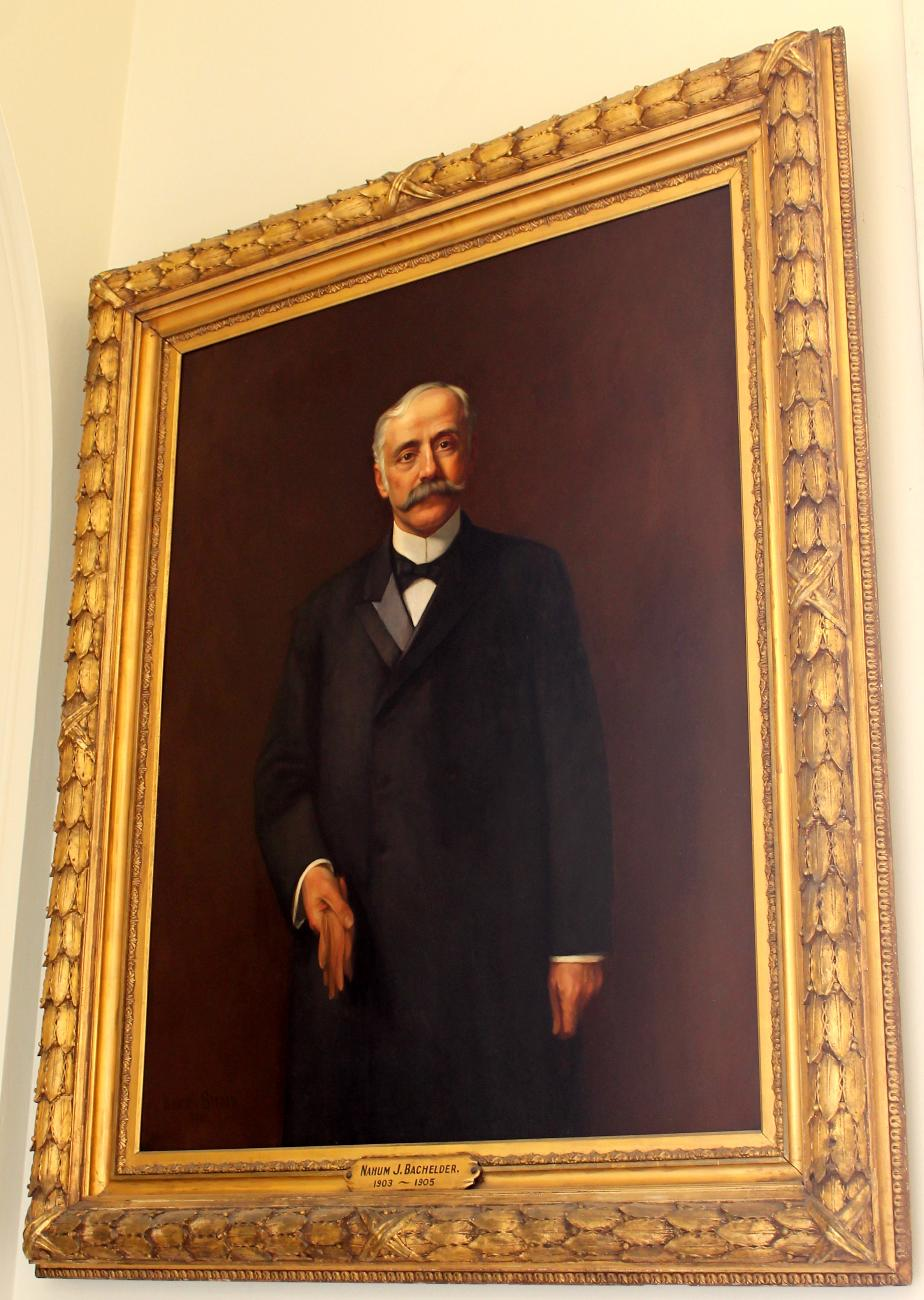 Governor Nahum Bachelder NH State House Portrait