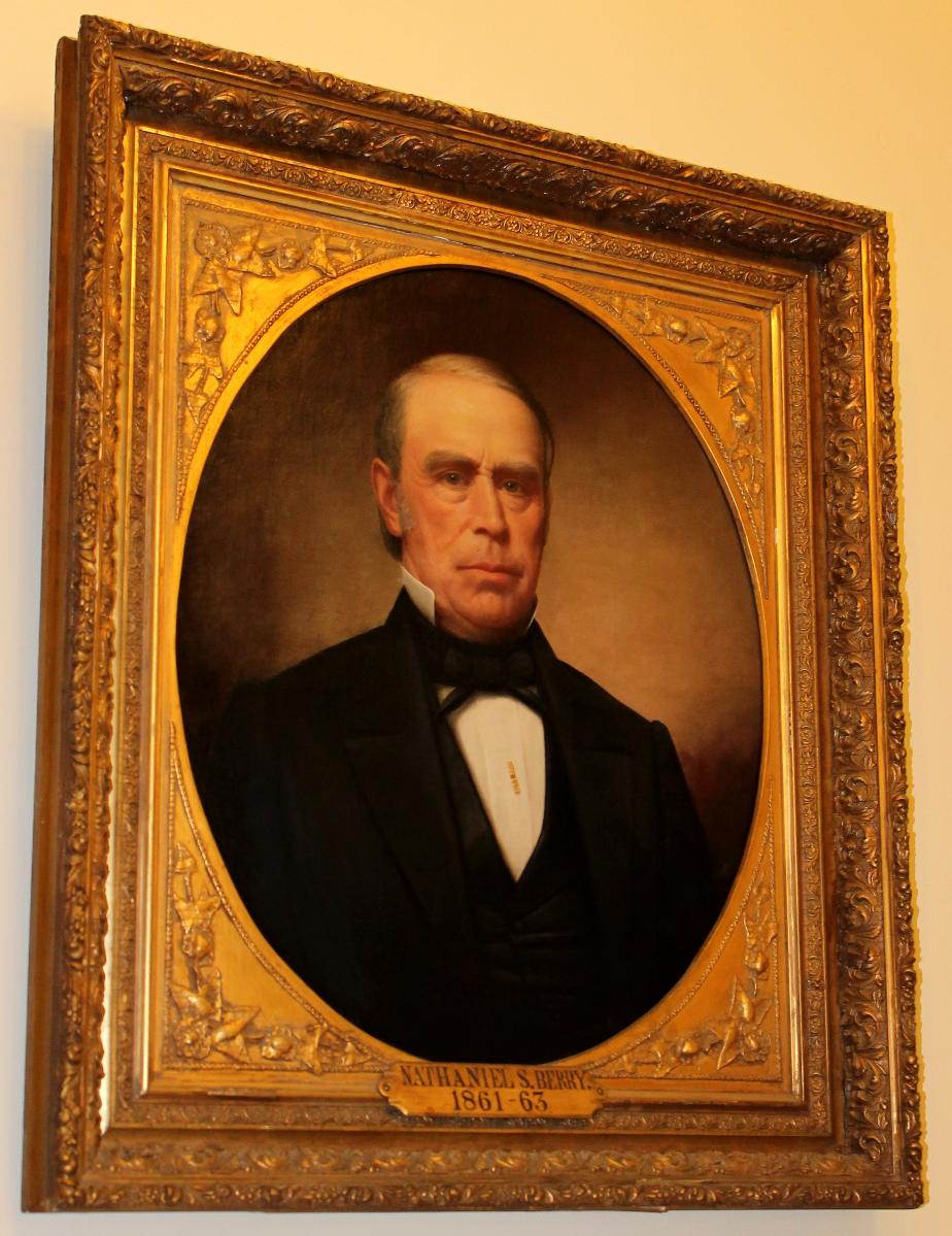 Nathaniel Berry, Nh Governor, 1861-1862