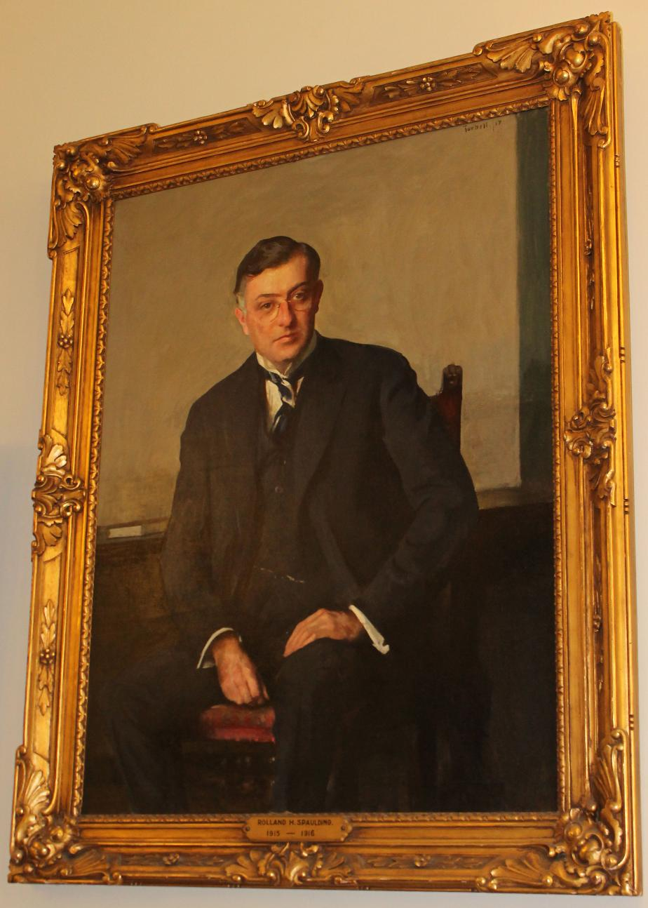 Governor Rolland H Spaulding NH State House Portrait