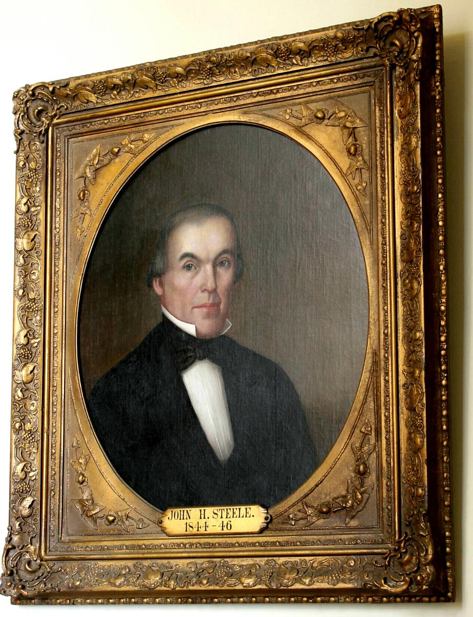 Governor John H Steele NH State House Portrait