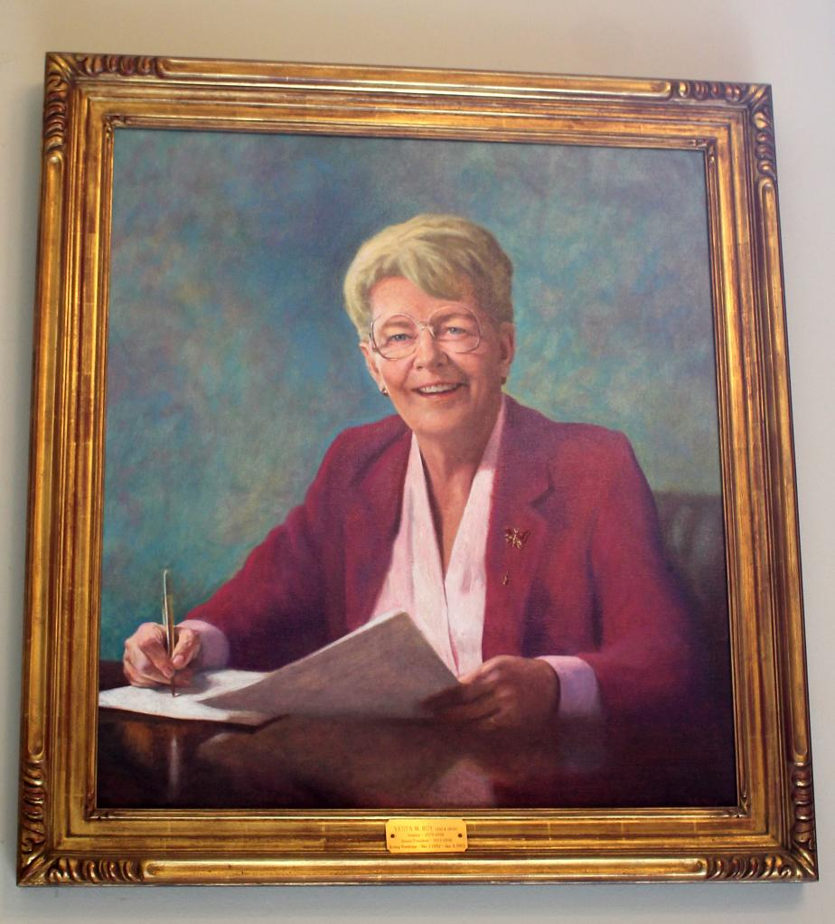 Governor Vesta Roy - New Hampshire State House Portrait