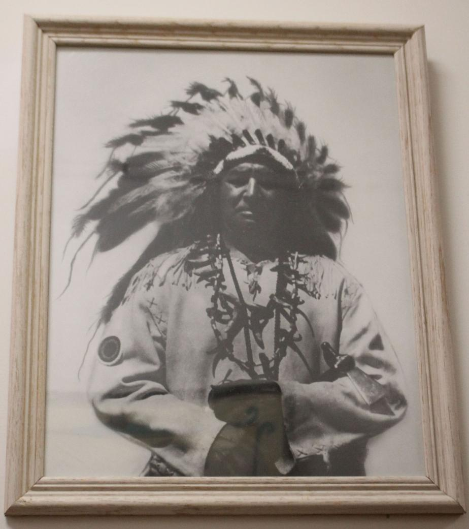 NH Indian Museum - Chief Silver Star