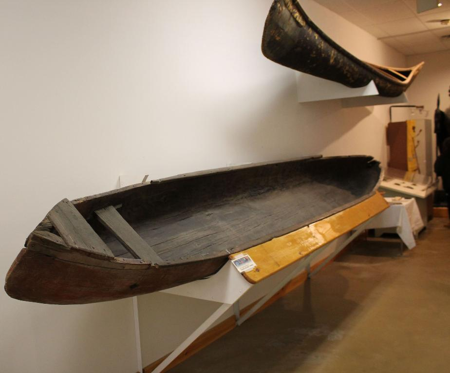 NH Indian Museum - Indian Canoes