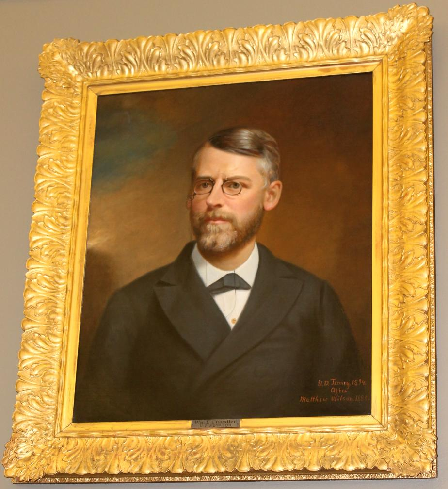 William E Chandler - State Library Portrait