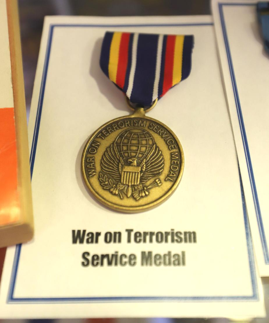 NH State Veterans Cemetery War On Terrorism Service Medal