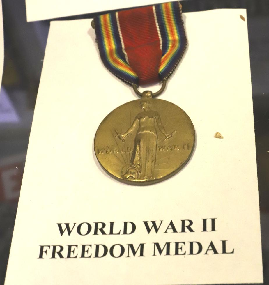 NH State Veterans Cemetery - World War II Freedom Medal