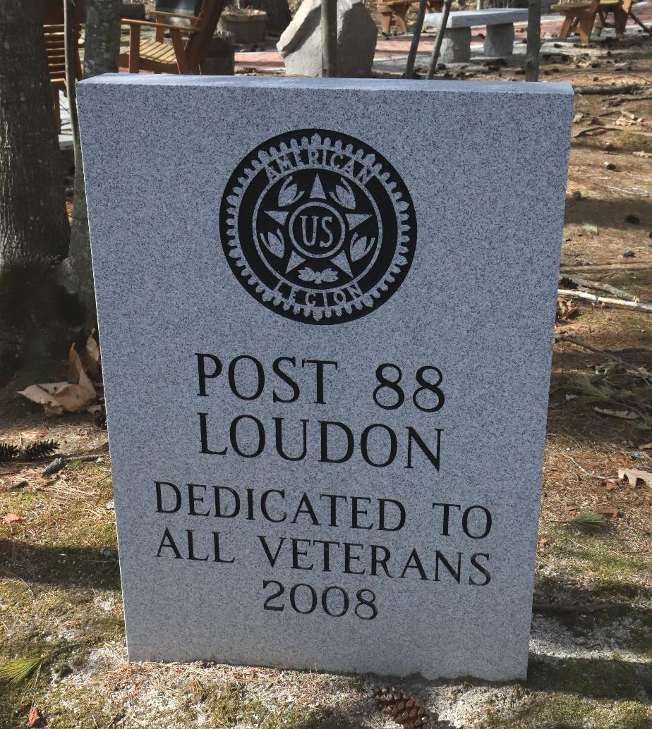 Nh State Veterans Cemetery - American Legion Post 88 Loudon NH