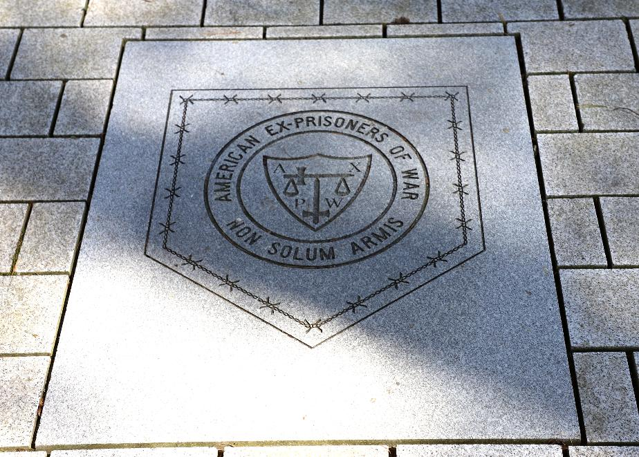 New State Veterans Cemetery - American Ex-POW Memorial Plate