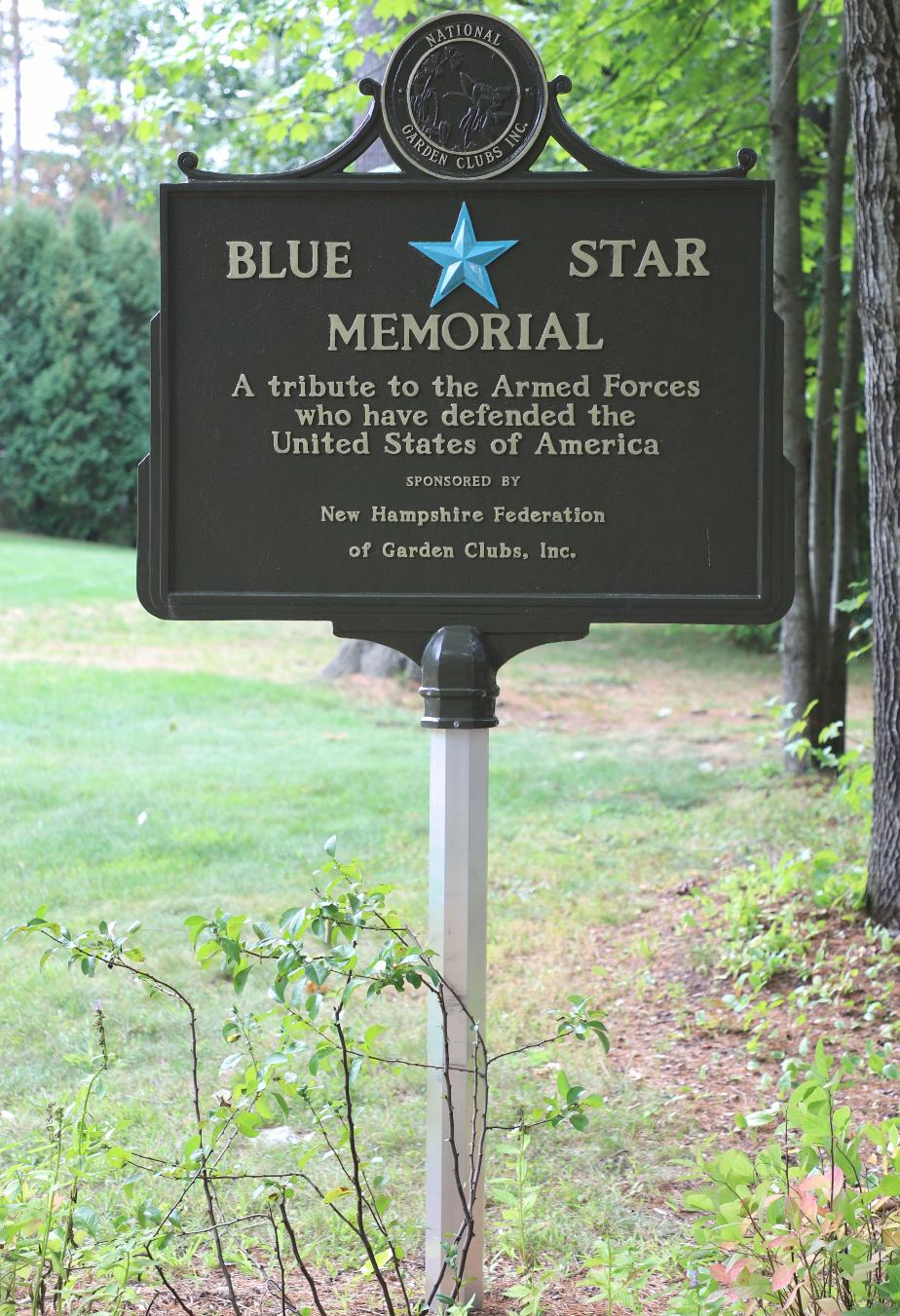NH State Veterans Cemetery - Blue Star Memorial