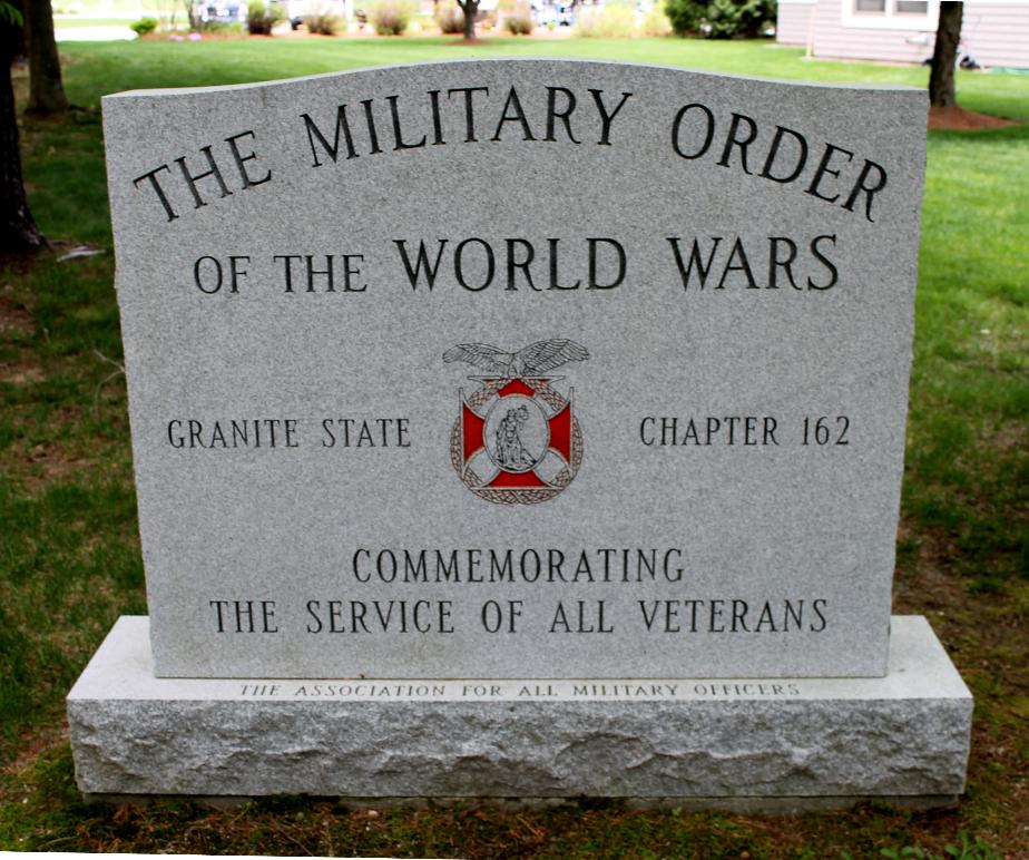 NH State Veterans Cemetery Militarey Order of the World Wars Memorial