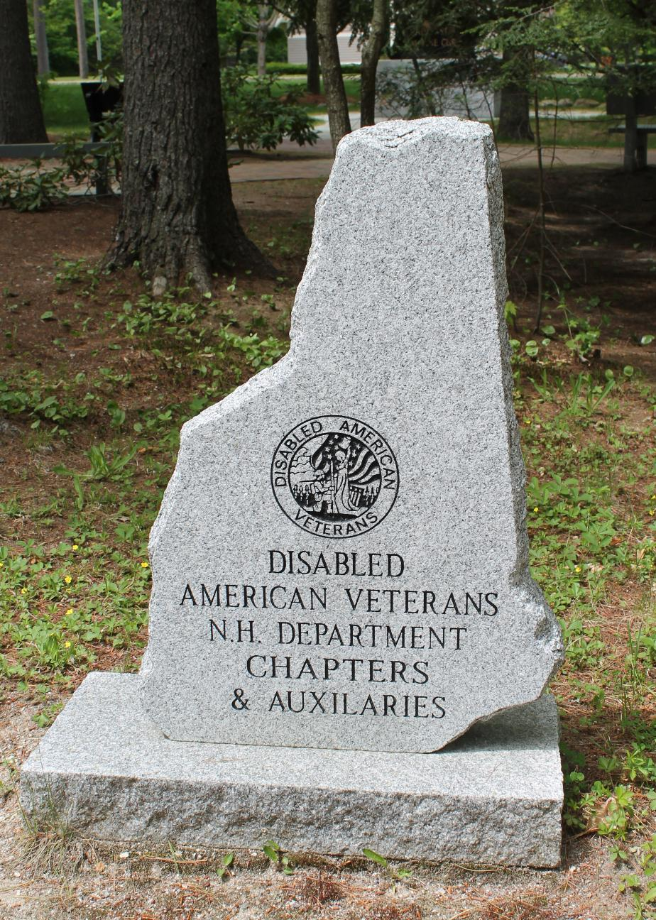 New Hampshire State Veterans Cemetery - Disabled American Veterans Association Memorial