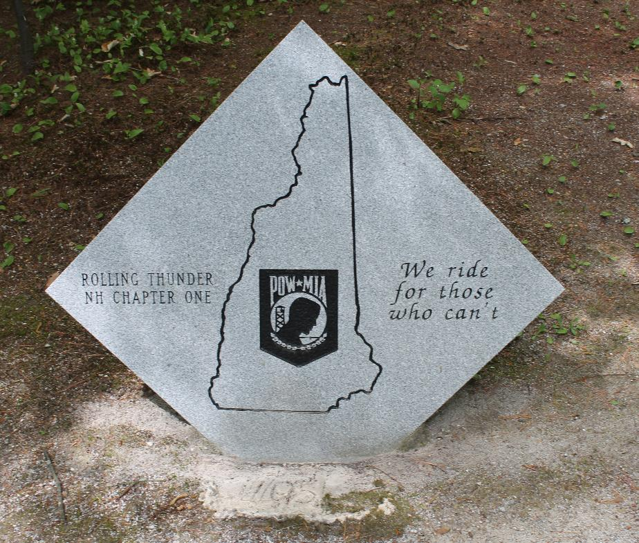 New Hampshire State Veterans Cemetery - Rolling Thunder Memorial
