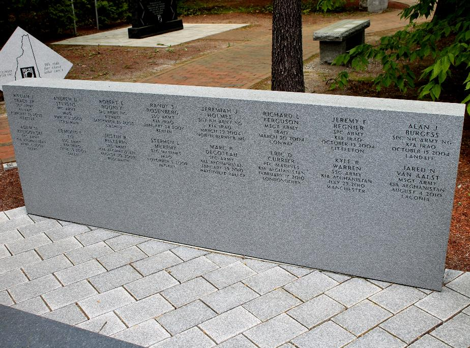 New Hampshire State Veterans Cemetery - Global War on Terror Memorial