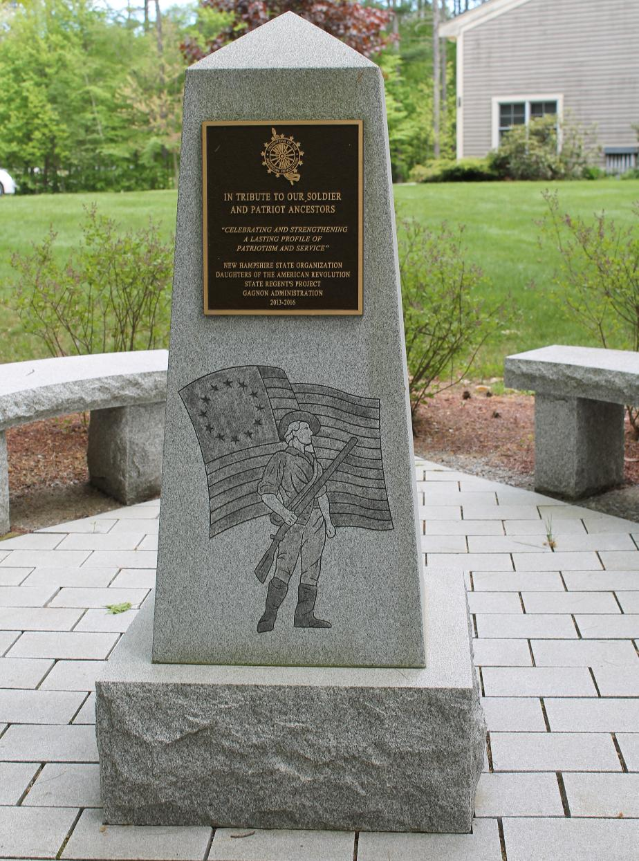 New Hampshire State Veterans Cemetery - Patriot Ancestor Memorial