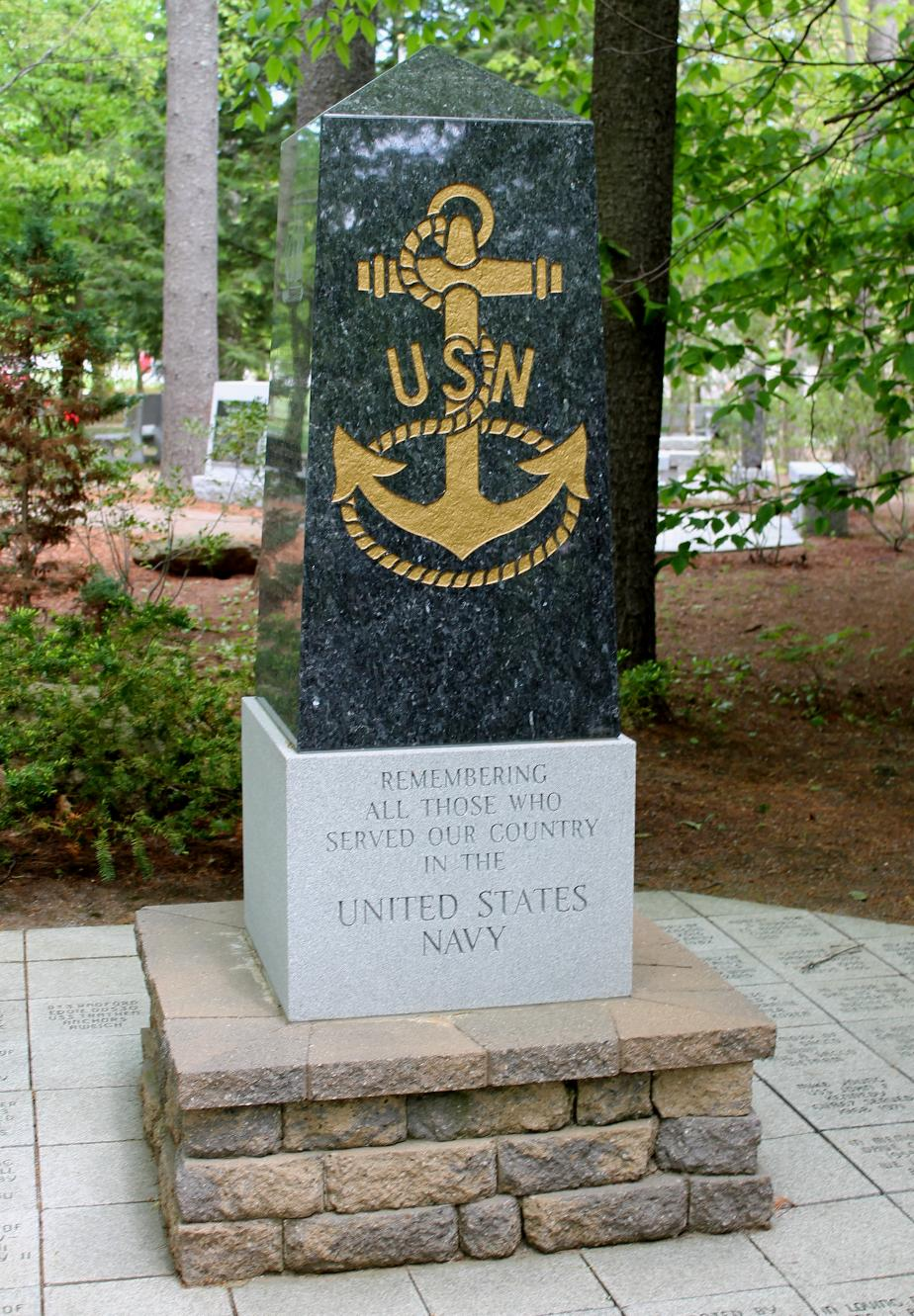 New Hampshire State Veterans Cemetery - US Navy Memorial