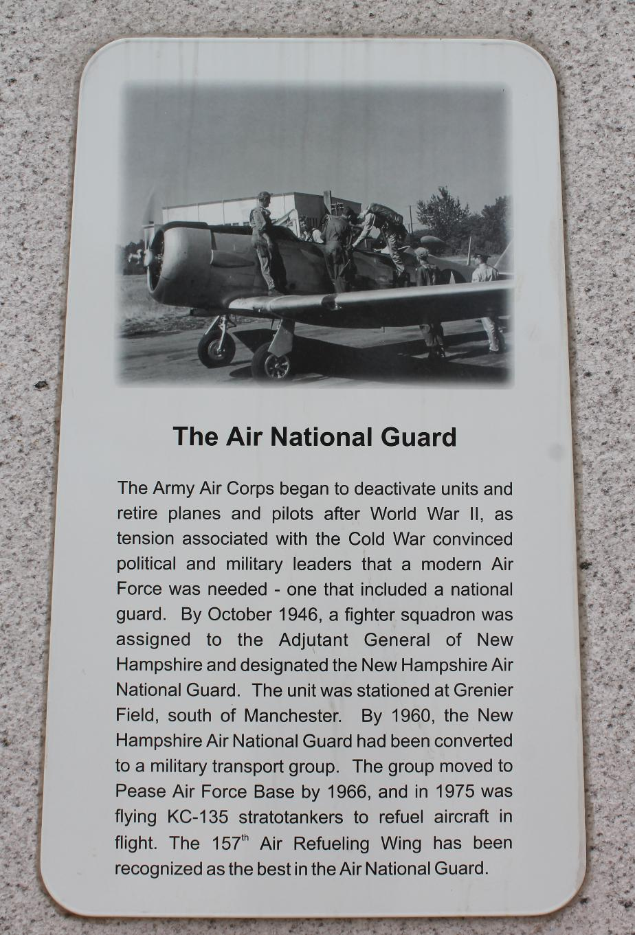 NH State Veterans Cemetery - Korea - The Air National Guard
