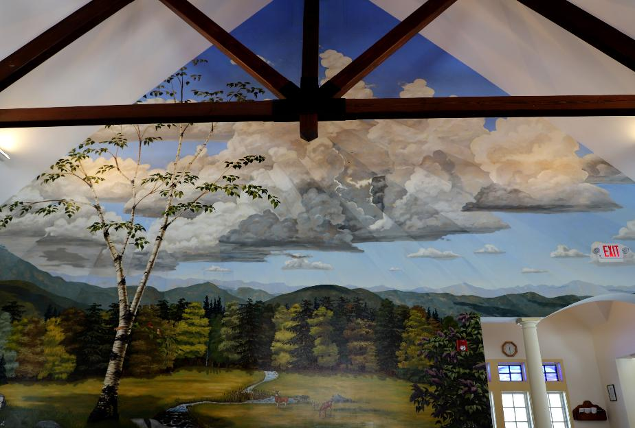 NH State Veterans Cemetery Chapel Mural