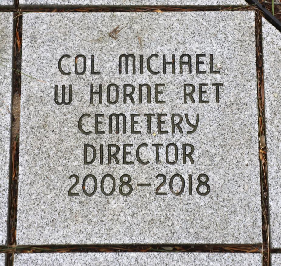 NH State Veterans Cemetery - US Air Force Memorial - Michael Horne Director