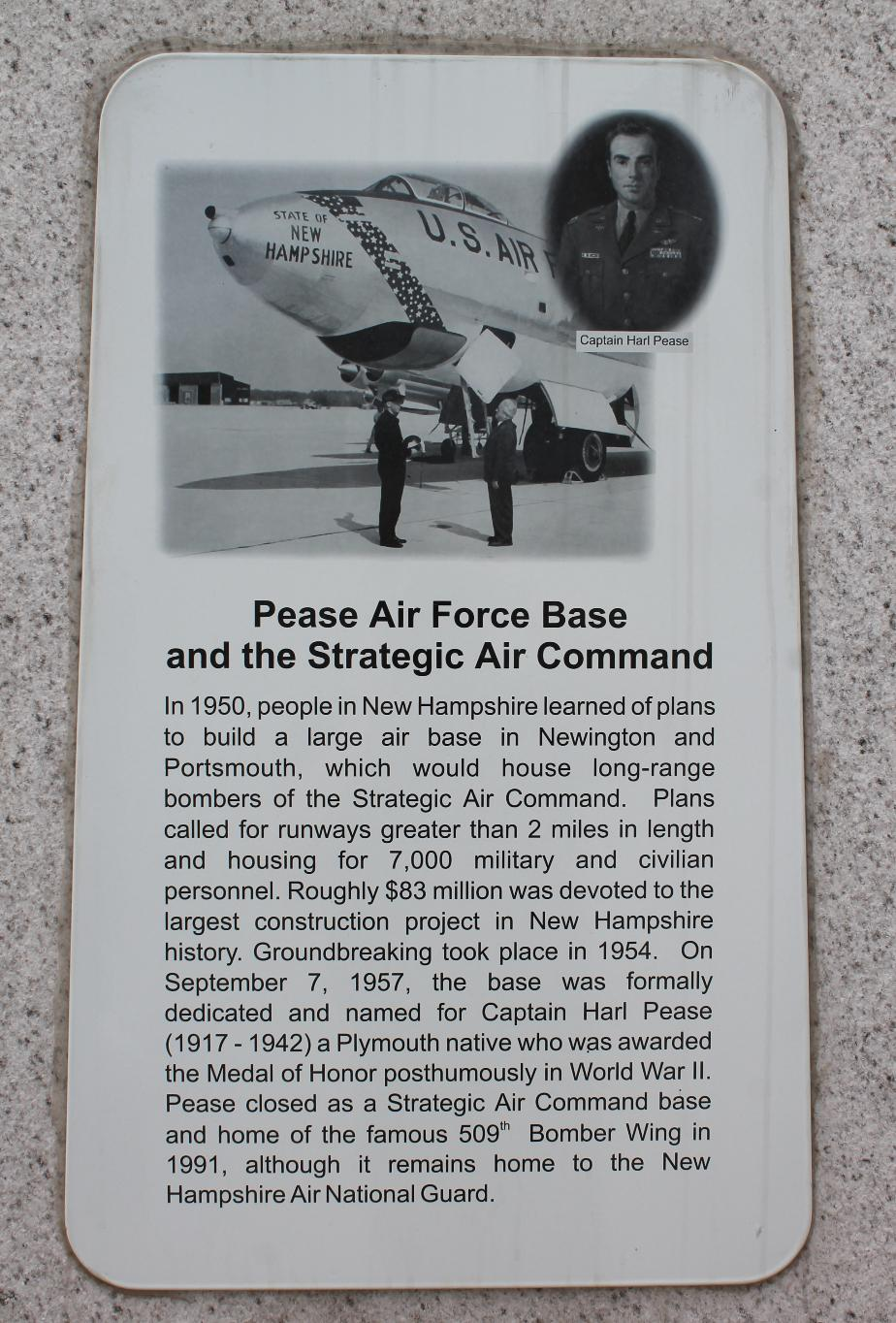 NH State Veterans Cemetery - Pease Air Force Base & The Strategic Air Command