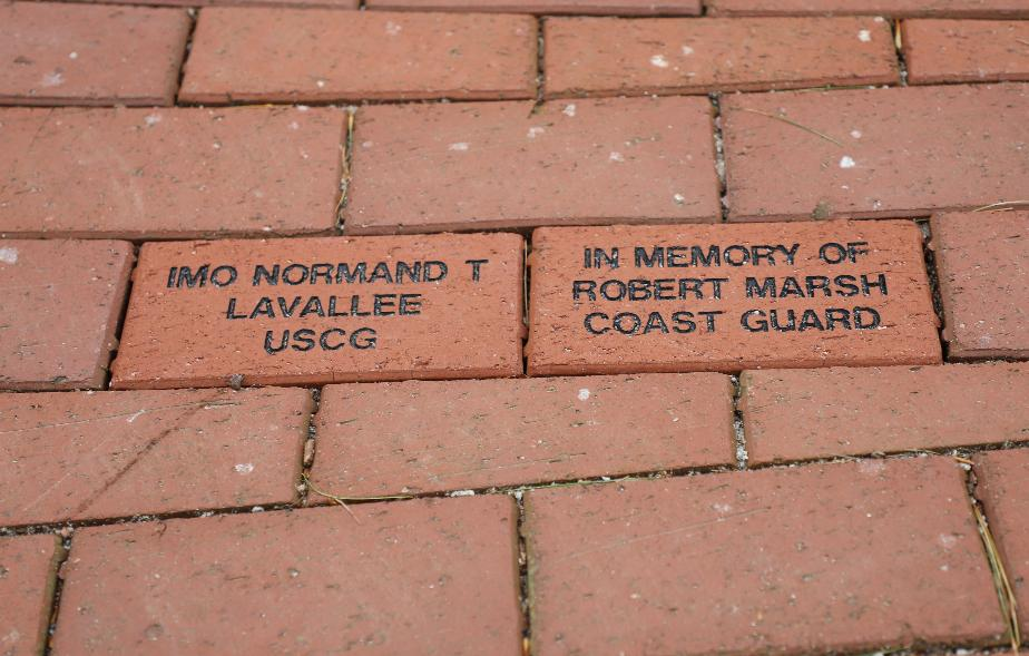 NH State Veterans Cemetery - Coast Guard Memorial - Robert M Marsh & Normand T Lavallee