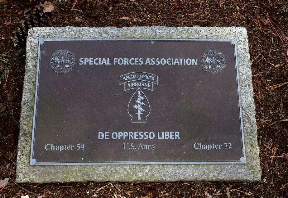 NH State Veterans Cemetery - Special Forces Chapter 72 Memorial
