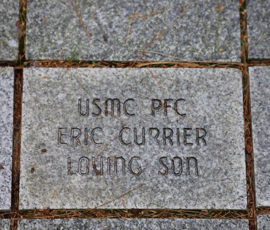 NH State Veterans Cemetery - Gold Star Families Memorial - PFC Eric Currier