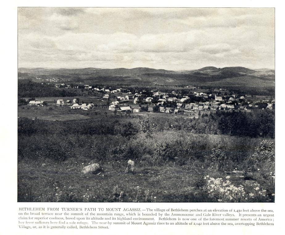 Bethlehem NH from Turner's Path to Mount Agassiz 1908
