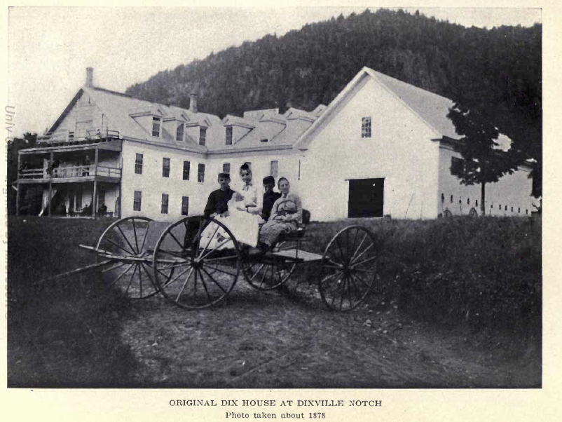 John Adams Dix House in Dixville Notch 1878