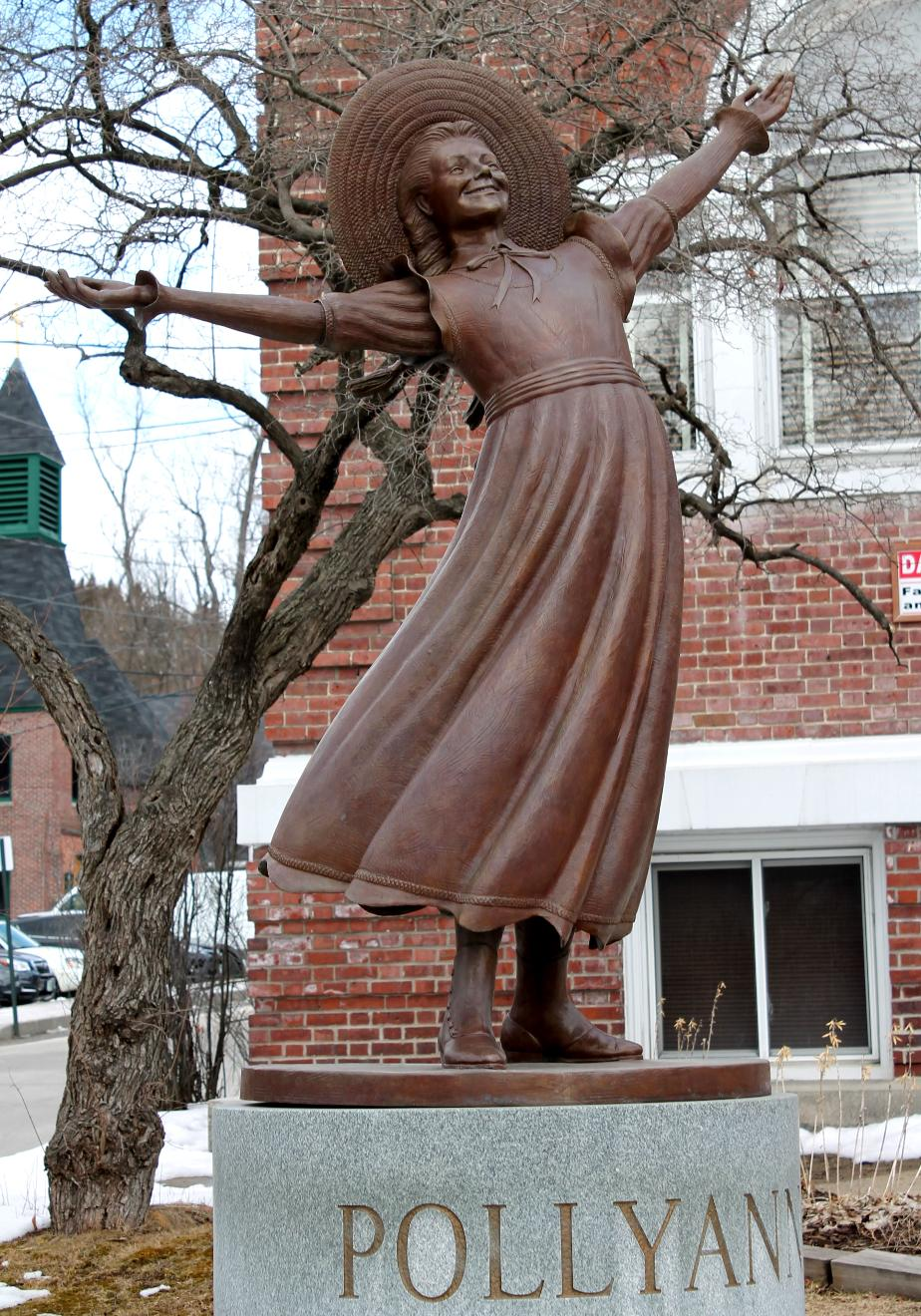 Polyanna Statue - Littleton New Hampshire