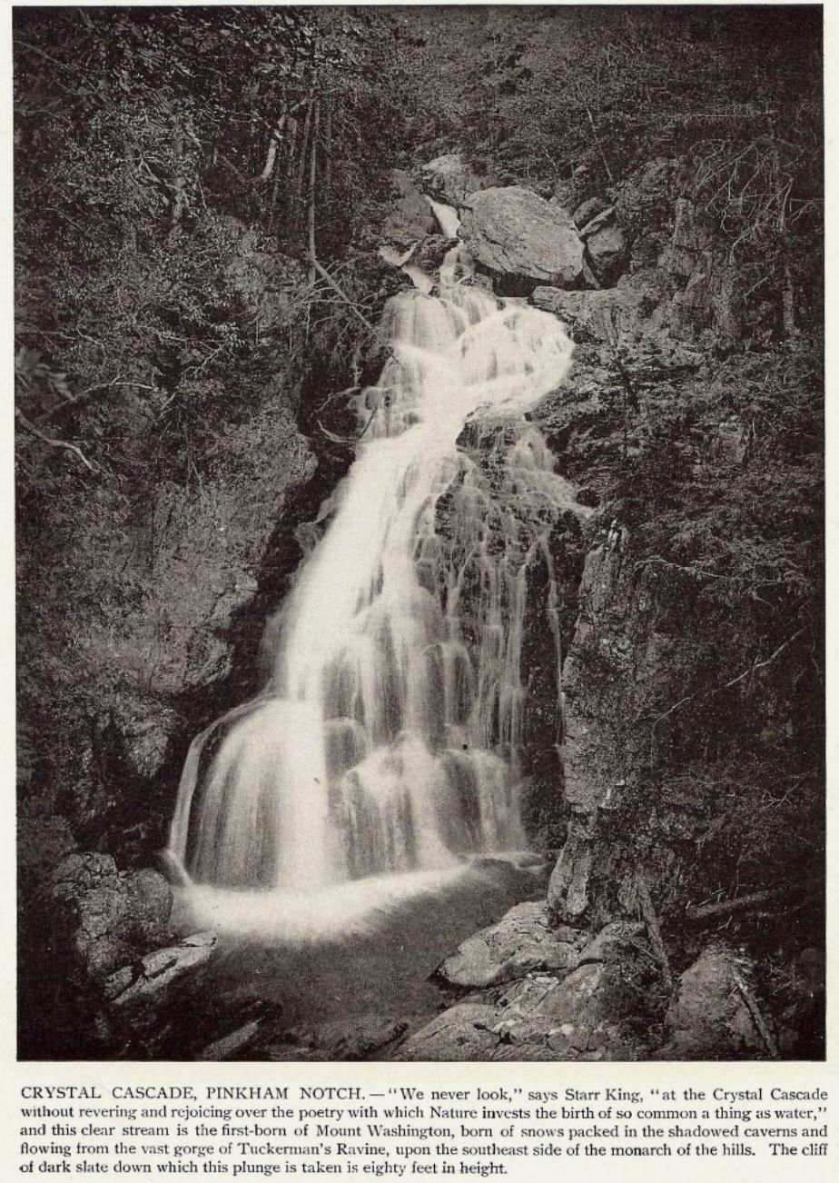 Crystal Cascade Falls, Pinkham Notch