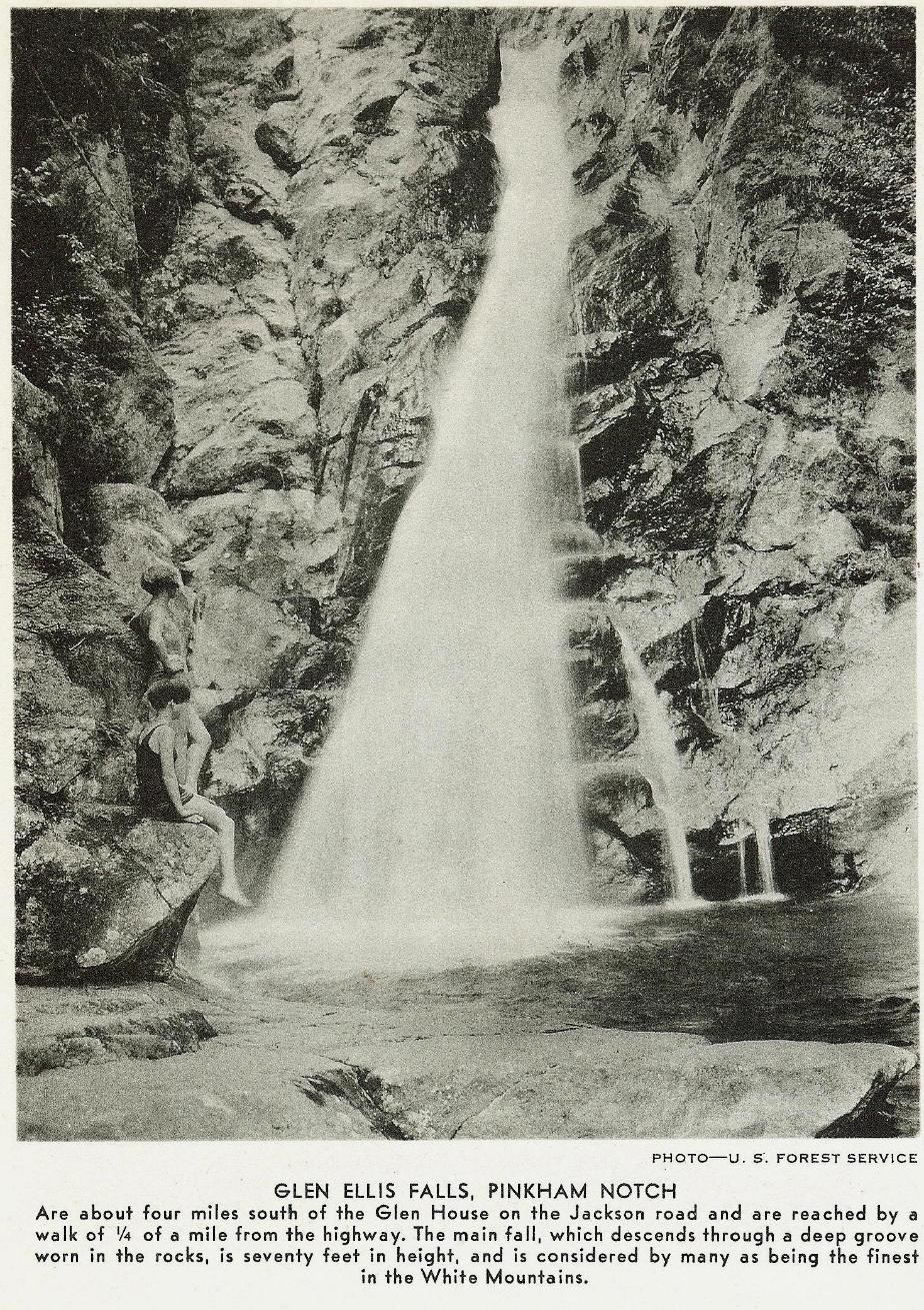 Glen Ellis Falls,Pinkham Notch
