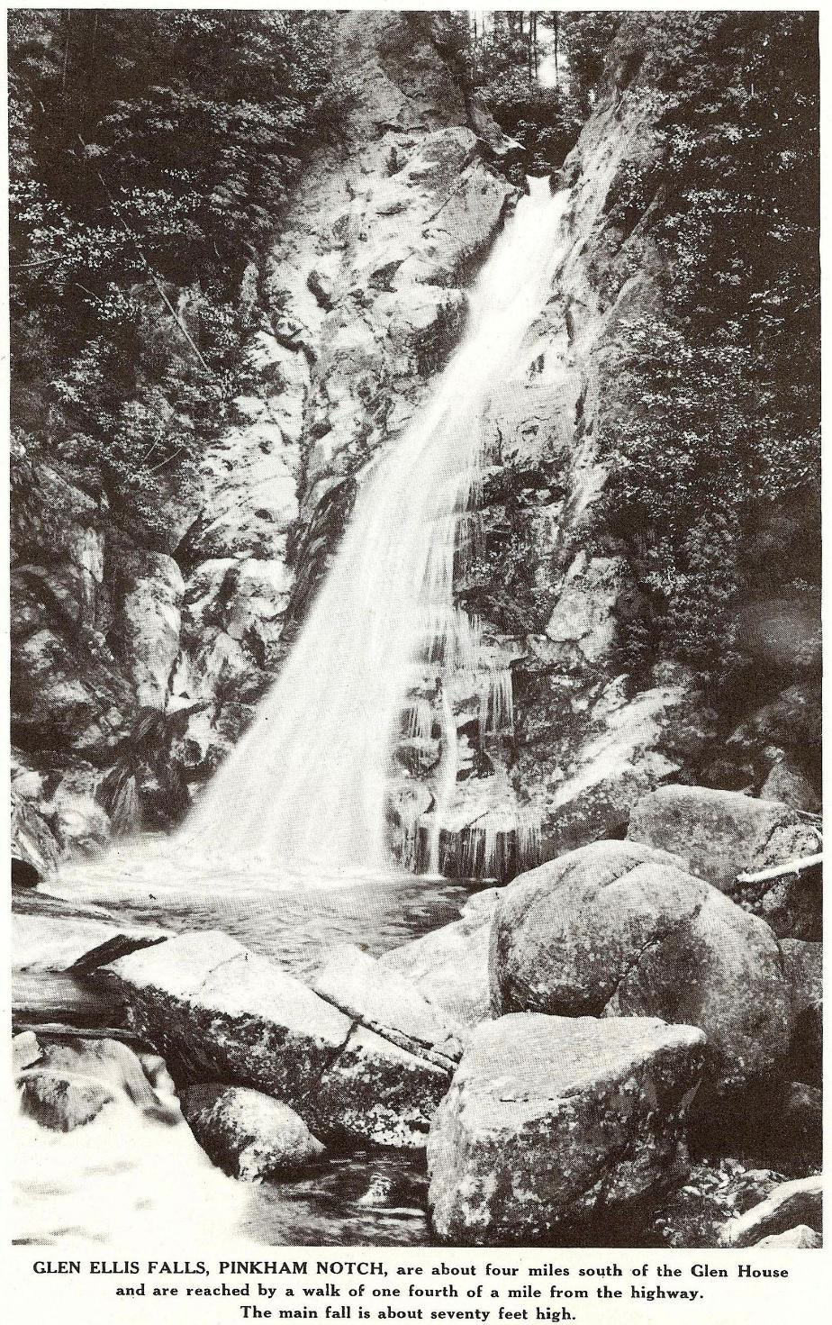 Glen Ellis Falls, Pinkham Notch