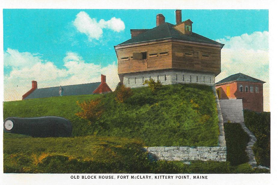 Block House, Fort McClary - Kittery Point Maine 1930