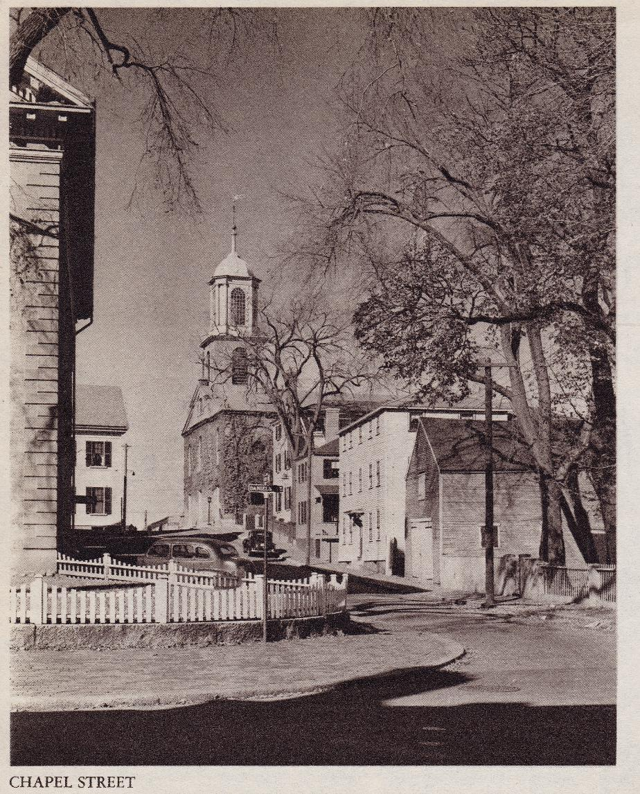 Chapel Street, Portsmouth NH - 1940