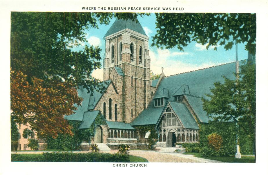 Christ Church, Madison St, Portsmouth NH 1930