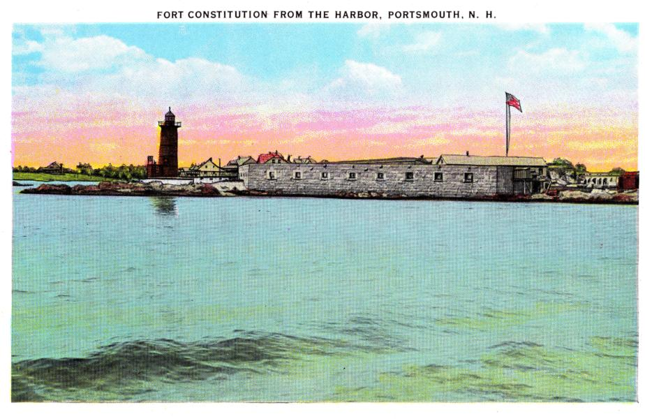 Fort Constitution, Portsmouth NH 1939