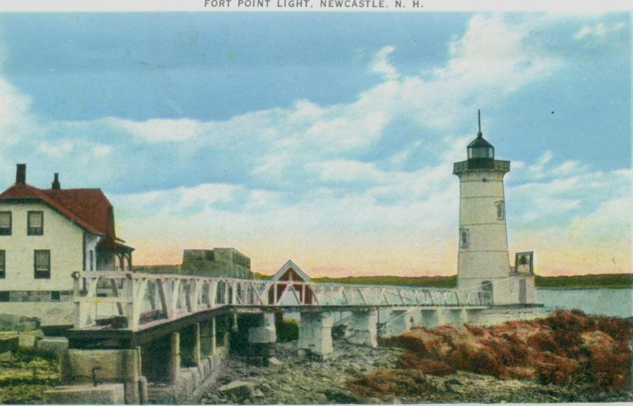 Fort Point Light, Newcastle NH 1939