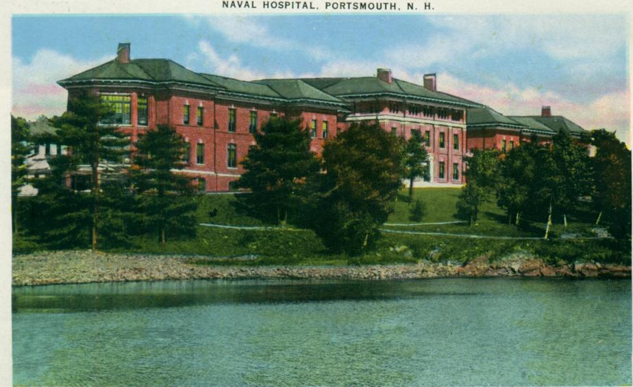 Naval Hospital, Portsmouth NH 1939