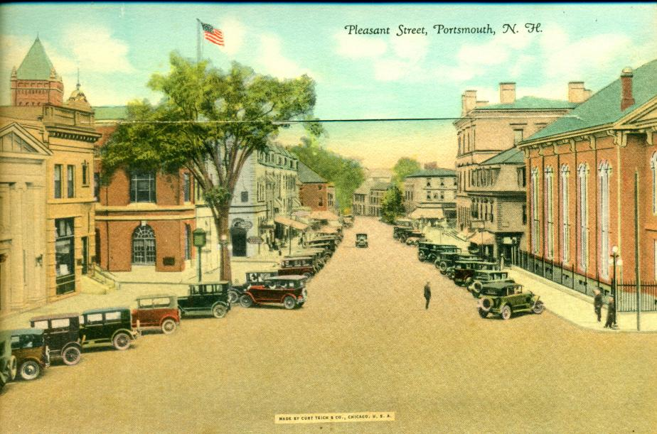 Pleasant Street, Portsmouth NH 1930
