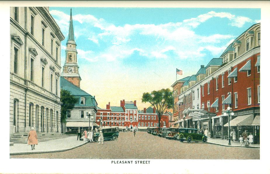 Pleasant St, Portsmouth NH 1930
