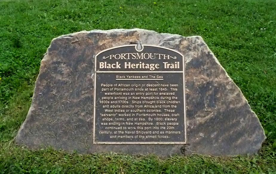Portsmouth New Hampshire Black Heritage Trail