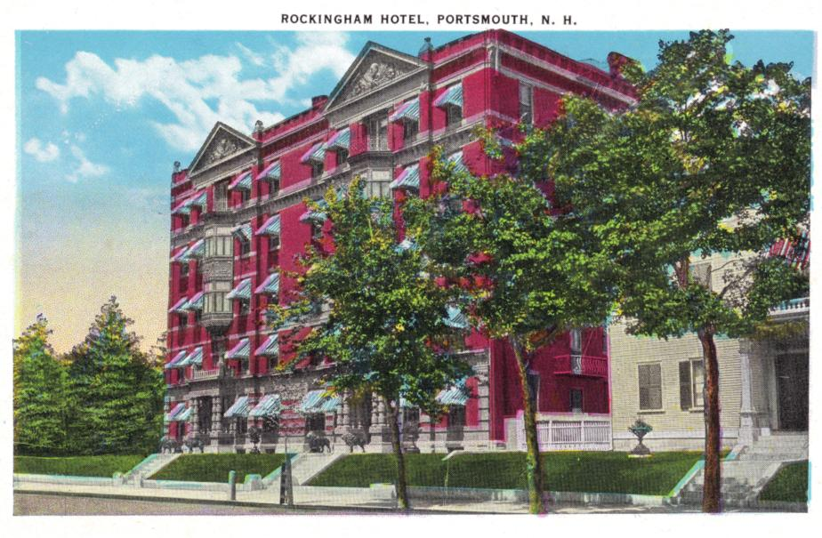 Rockingham Hotel, State Street Portsmouth NH 1939