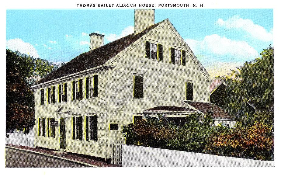 Thomas Bailey Aldrich House, Portsmouth NH 1939