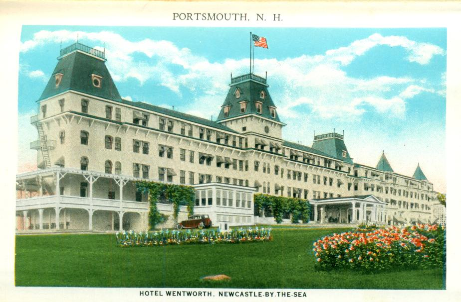 Wentworth By The Sea Resort, Portsmouth NH 1930