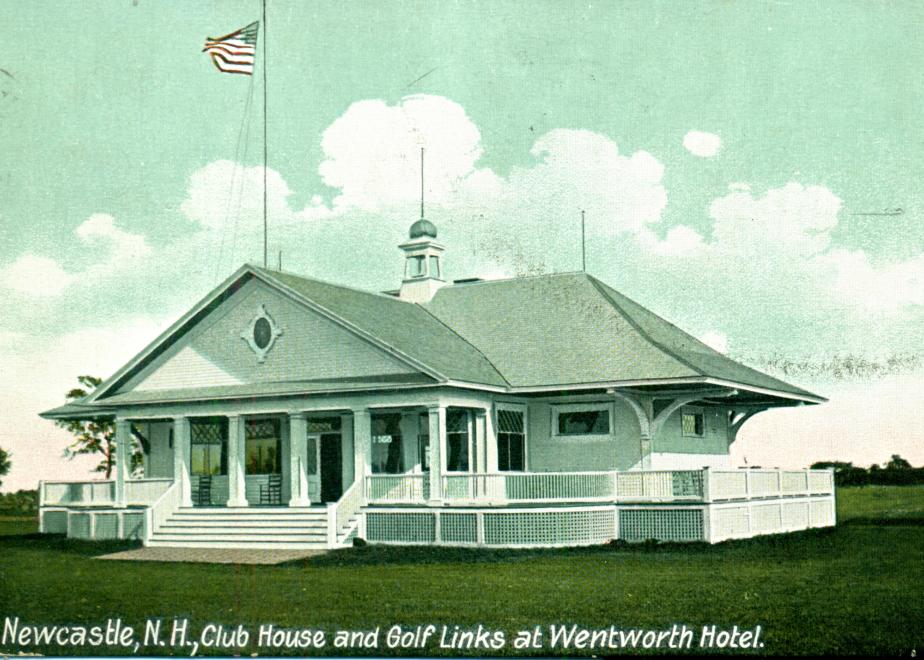 Wentworth Hotel Club House - New Castle NH 1910