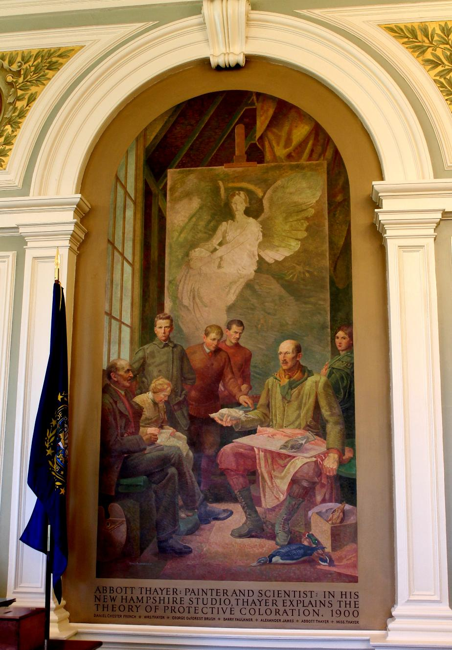 Abbott Thayer NH State House Painting