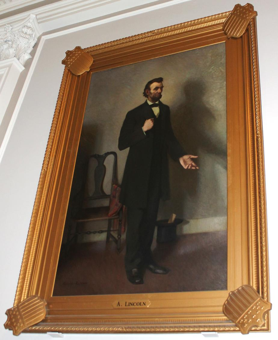 Abraham Lincoln, NH State House Portrait